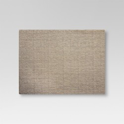 "19""x14"" Eva Woven Striped Placemat Gold - Threshold™"