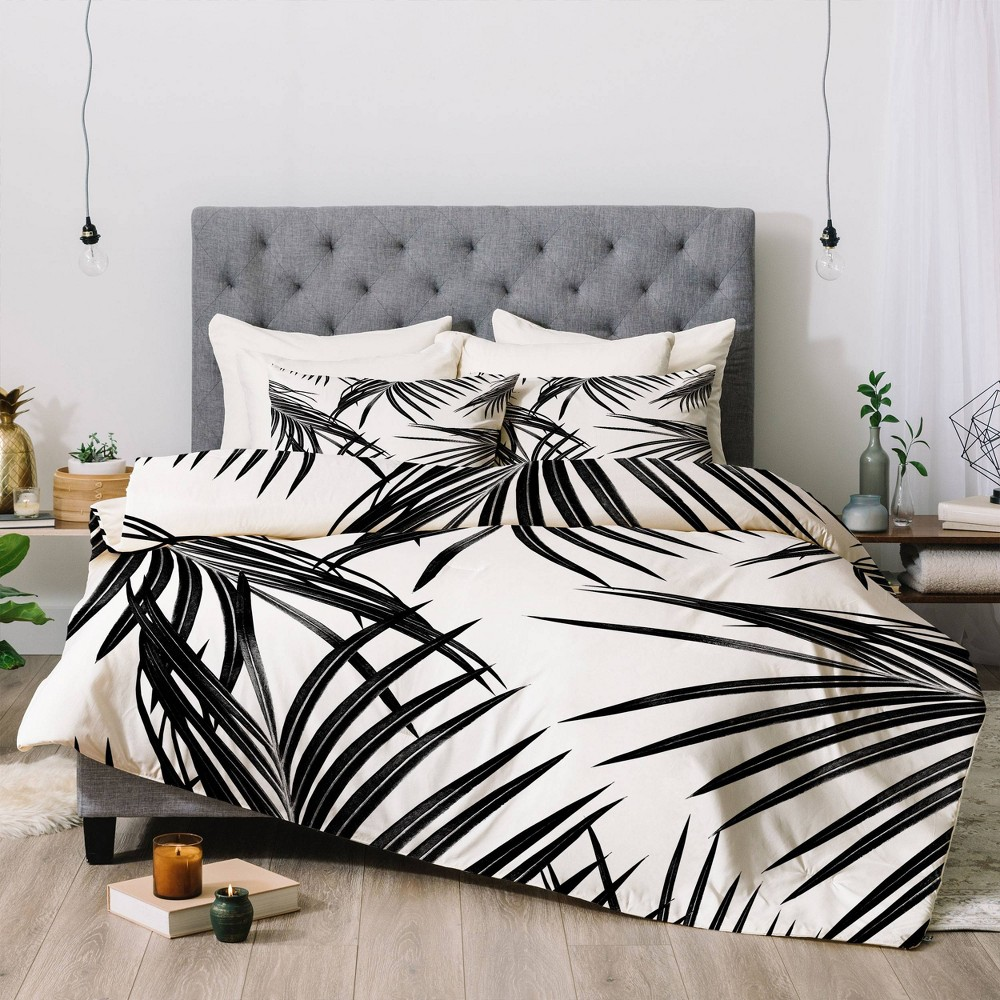 Twin Anita 38 Bella Art Palm Leaves Dream Comforter Set Deny Designs