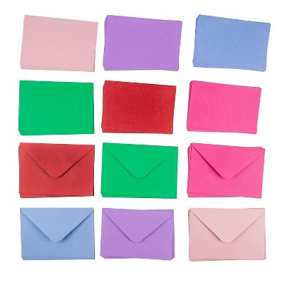 Sustainable Greetings 48-Pack 6-Color Blank Greeting Cards, Plain Thank You Cards, Birthday & Invitations Cards, 4 x 6 in