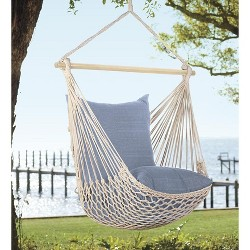 Rope Hammock Swing With Hanging Hardware - Plow & Hearth