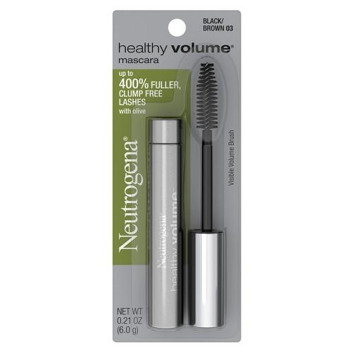 Neutrogena Healthy Volume Mascara - 03 Black Brown, Black/Brown 03