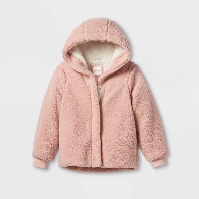 Girls' Sherpa Bomber Jacket - Cat & Jack™