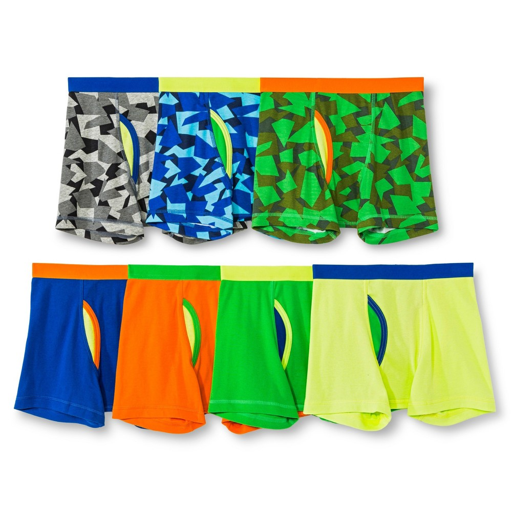 Boys' 7-Pack Boxer Briefs Yellow XS (4-5) - Circo, Quarrion Yellow