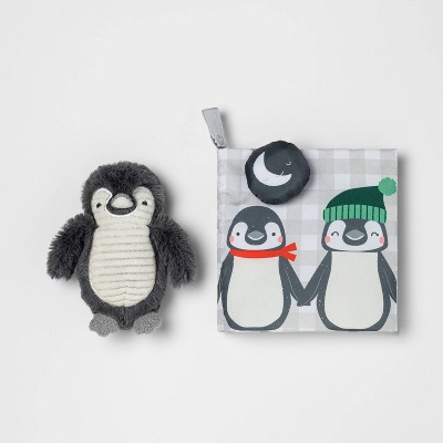 Plush Book and Toy Set - Cloud Island™ Penguin