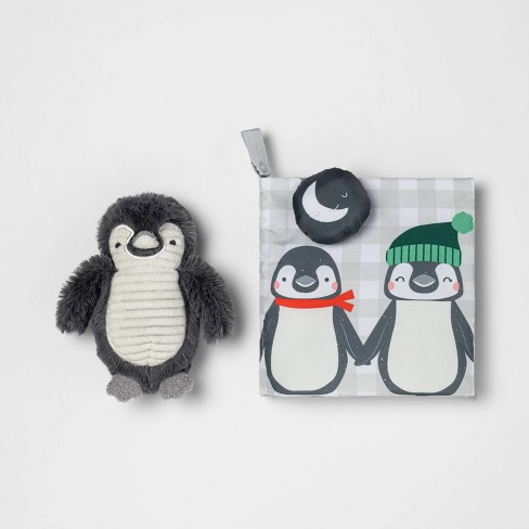 Plush Book and Toy Set - Cloud Island™ Penguin - image 1 of 3