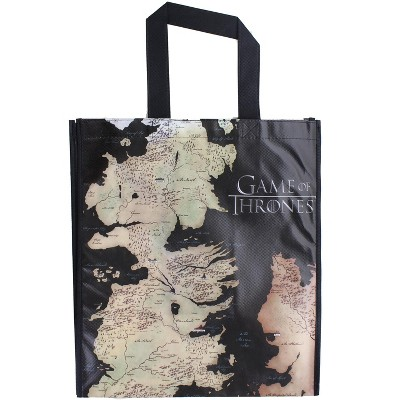 Crowded Coop, LLC Game of Thrones Westeros Map Grocery Tote