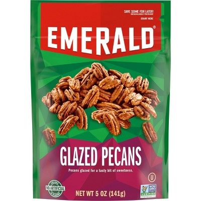 Emerald Glazed Pecans - 5oz