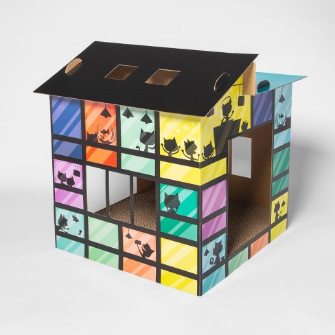 Colorblock House Party Cat Scratcher - Boots & Barkley™ - image 1 of 2