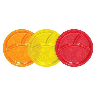 Munchkin Multi Divided Plates - 3 Pack