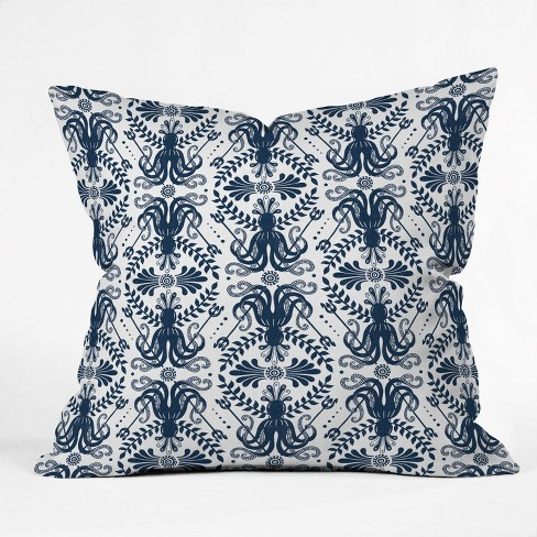 Heather Dutton Mythos Oceanic Throw Pillow Blue - Deny Designs - image 1 of 1