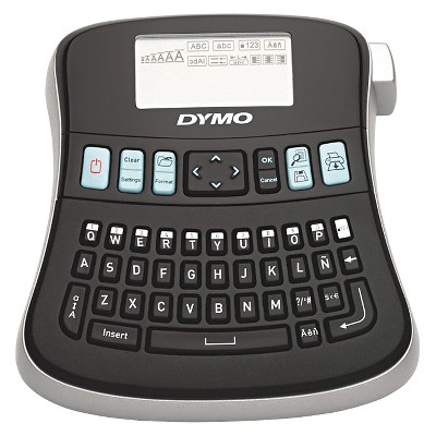 DYMO LabelManager 210D - 2 Lines - 6w x 6 - 2/5d x 2 - 1/2h