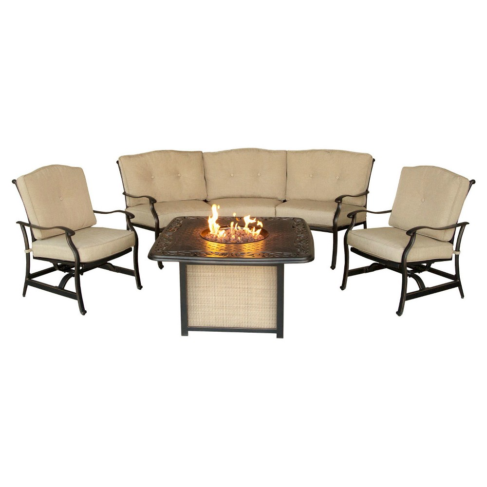 Image of 4pc Patio Seating Set Hanover