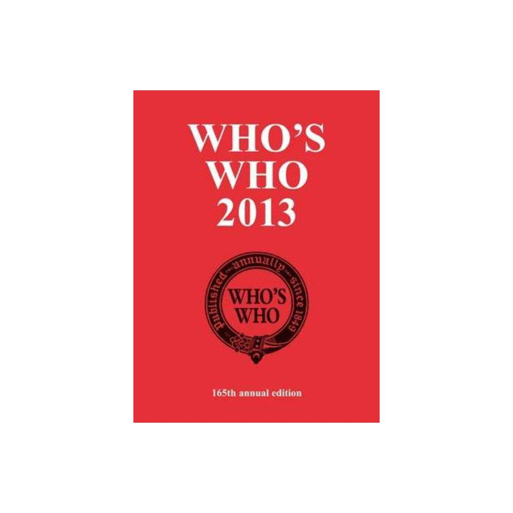 Who's Who 2013 - (Who's Who (Acb)) (Hardcover)