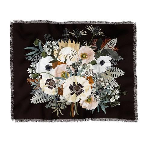 Iveta Abolina Elsa Woven Throw Blanket Black - Deny Designs - image 1 of 2