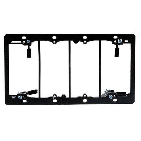 Monoprice 4-Gang Low Voltage Mounting Bracket | UL and CSA Listed - image 1 of 2