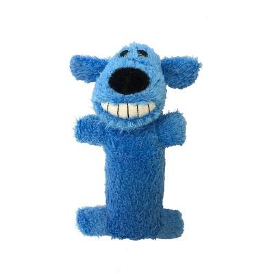 "Multipet Loofa The Original Dog Toy - Blue - 6"""