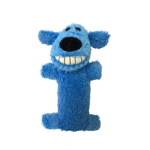 "Multipet Loofa The Original Dog Toy - Blue - 6"" - image 1 of 3"