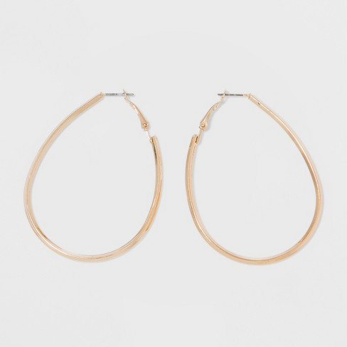 Hoop Earrings - A New Day™ Gold - image 1 of 4