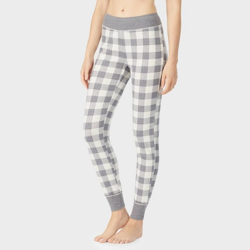 Warm Essentials by Cuddl Duds Women's Waffle Thermal Leggings - image 1 of 4