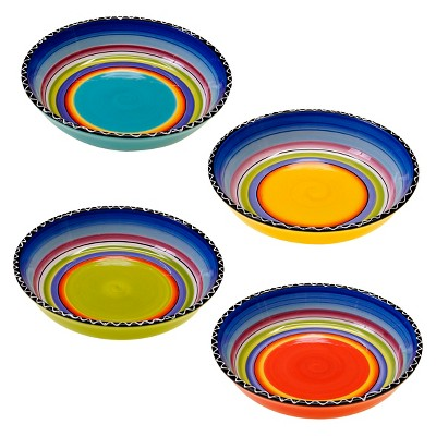 Soup/Pasta Bowl Tequila Sunrise 40oz Set of 4 - Certified International