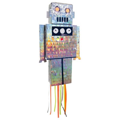 Meri Meri - Robot Party Pinata - Party Decorations and Accessories - 1ct