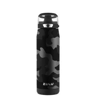 Zulu Swift 20oz Stainless Steel Water Bottle - Camo Black