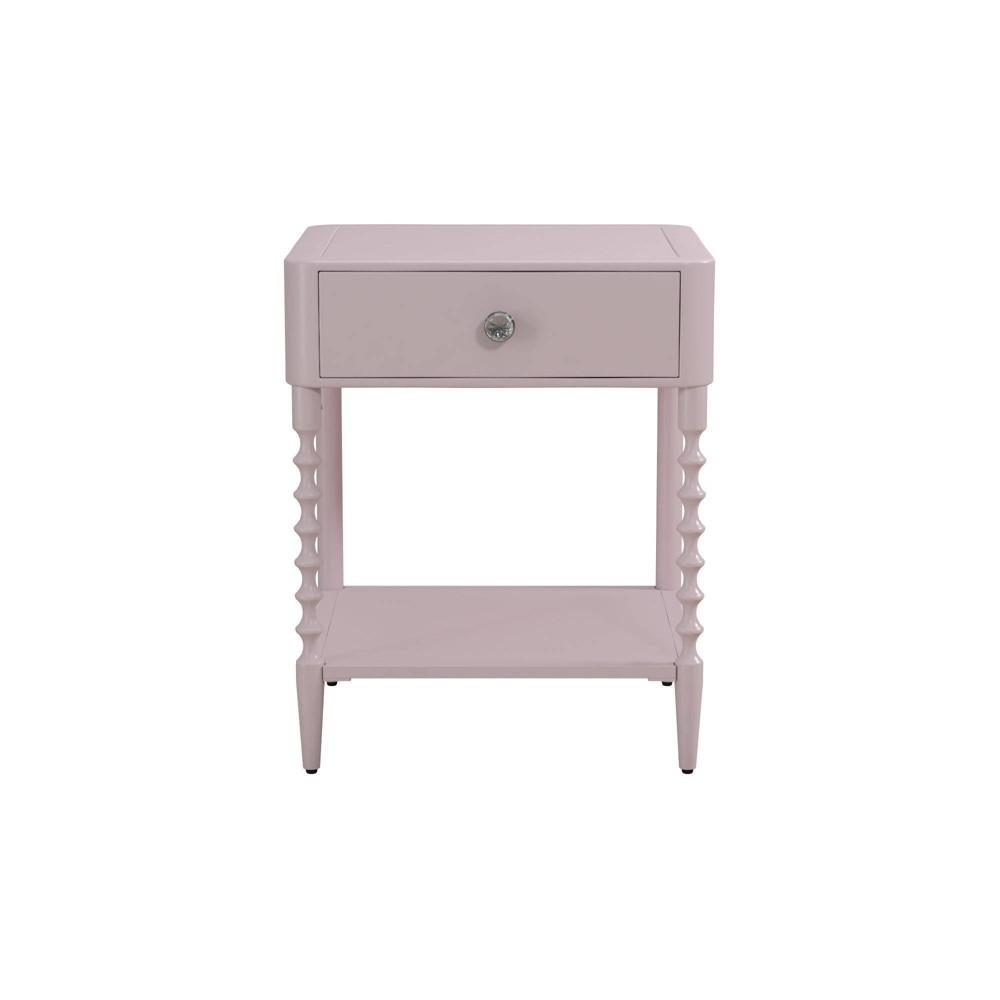 Emilia Metal Nightstand Pink - Room & Joy