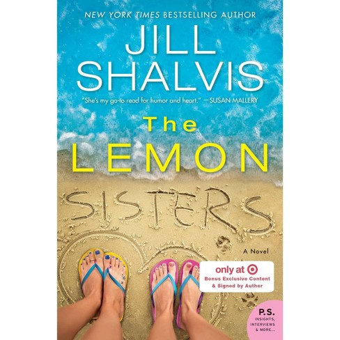 the Lemon Sisters - Target Exclusive -  by Jill Shalvis (Paperback) - image 1 of 1