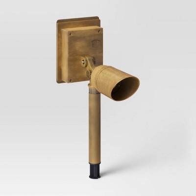 Lumen LED Spotlight Antique Brass - Smith & Hawken™