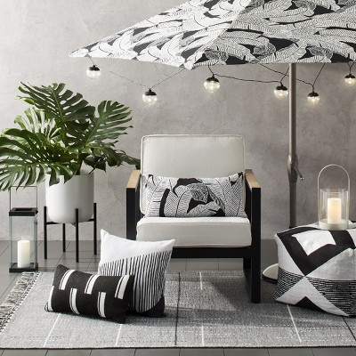 - Black And White Mod Outdoor Décor Collection : Target