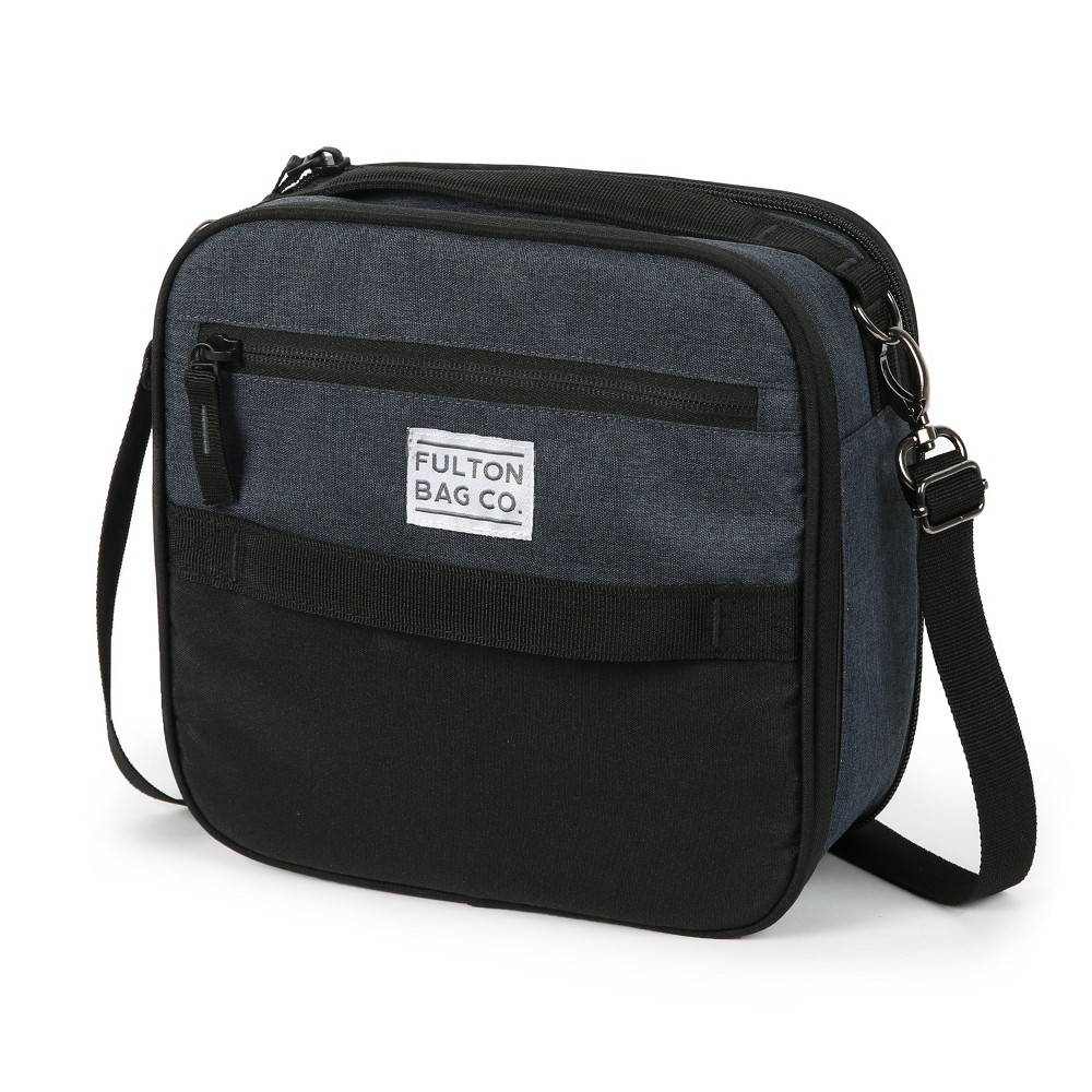 Image of Fulton Bag Co. Expandable Lunch Pack - Navy, Blue