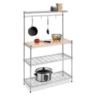 Whitmor Baker's Rack with Cutting Board