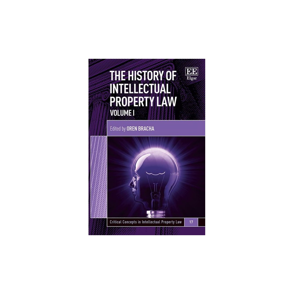 History of Intellectual Property Law - (Hardcover)