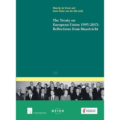 The Treaty on European Union 1993-2013: Reflections from Maastricht - (IUS Commune Europaeum) - image 1 of 1