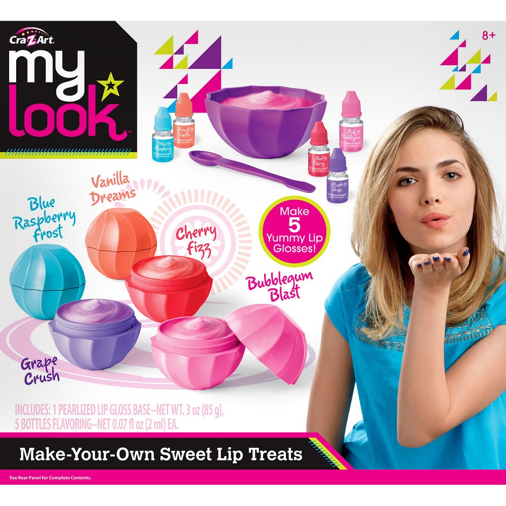 My Look Make-Your-Own Sweet Lip Treats by Cra-Z-Art