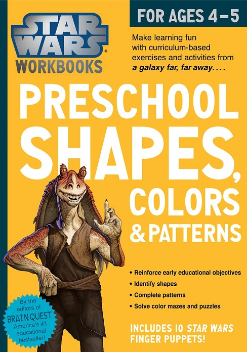 Star Wars Preschool Shapes, Colors & Patterns for Ages 4-5 by Workman Publishing - image 1 of 1