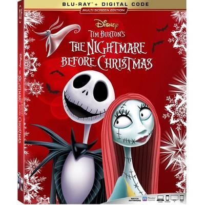 Nightmare Before Christmas (Blu-ray + Digital)