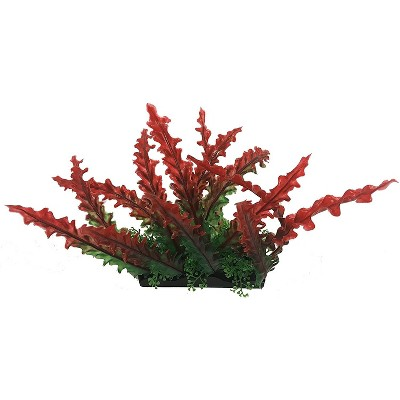 Penn-Plax Aqua-Scaping Large Red Bunch Plant - 5 Piece PDQ