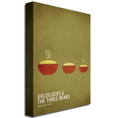 Goldilock And The Three Bears By Christian Jackson Ready To Hang