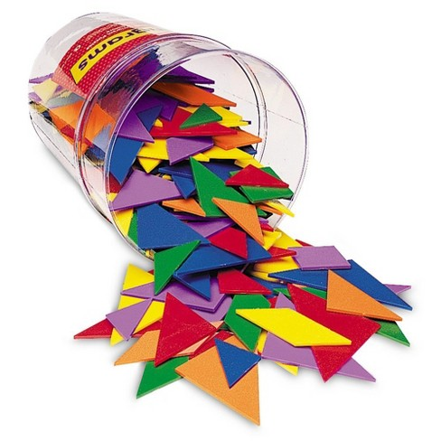 Learning Resources Class Pack Tangrams, Set of 30, 4 Colors - image 1 of 4