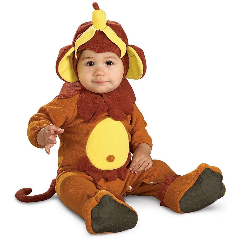 Baby Boys' Little Monkey Halloween Costume - Rubie's, Size: 0-6M, Brown