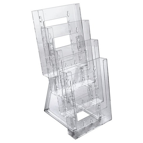 Azar® Four-tier Modular Bifold Brochure Holder 2ct - image 1 of 1