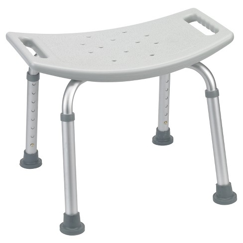 Drive Medical Bathroom Safety Shower Tub Bench Chair, Gray - image 1 of 2