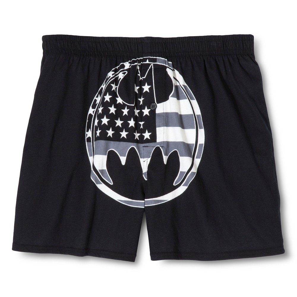 Men's Boxer Shorts Black/White - Warner Bros. M