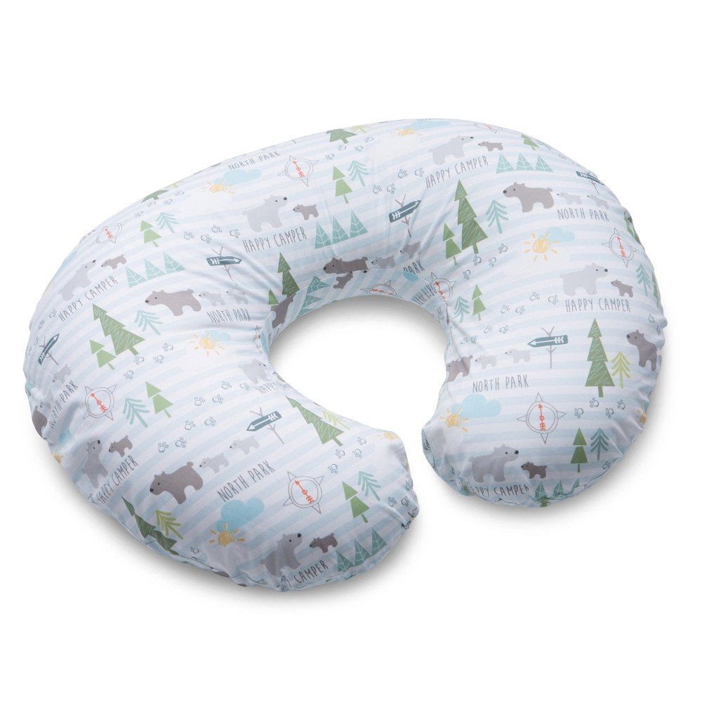 Image of Boppy North Park Nursing Pillow and Positioner, Blue