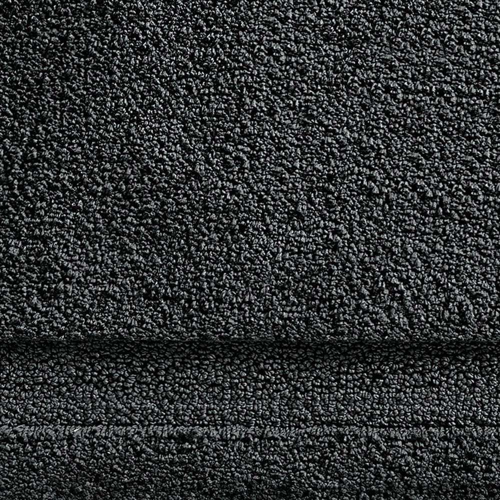 Image of Extra Long Spa Bath Rug (60x21) Black - iDESIGN