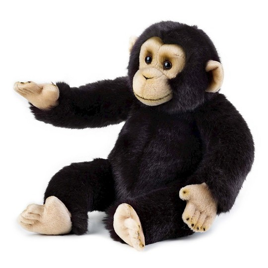 Lelly National Geographic Chimp Hand Puppet image number null