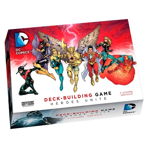 DC Comics Heroes Unite Deck-Building Card Game - image 1 of 2