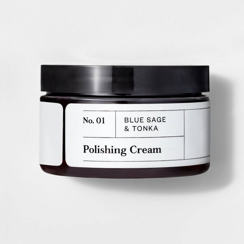 No. 01 Blue Sage & Tonka Polishing Cream - 4oz - Goodfellow & Co™ - image 1 of 2