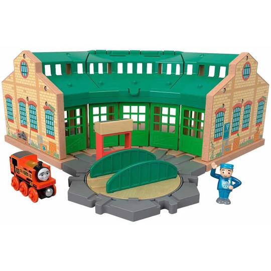 Fisher-Price Thomas & Friends Wood Tidmouth Sheds image number null